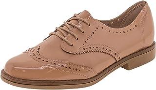 Sapato Feminino Oxford Beira Rio - 4170102 Bege