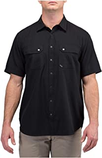 Tactical Men's Cotton Fabric Herringbone Short Sleeve Shirt, Style 71375