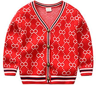 Huainsta Kids Sweaters Winter Lovely Embroidery Baby Sweater Outwear Long Sleeve