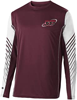 Columbia 300 Men's Arc Shirt Long SleeveMaroon Large