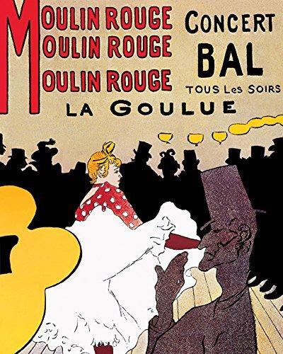 Moulin Rouge Mini Poster by Henri de Toulouse-Lautrec 16 x 20in by EUR