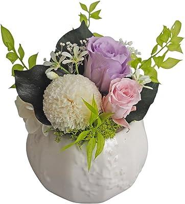 フラデコ プリザーブドフラワー 『大切なお仏壇に、彩りをもたせる仏花』 葵(あおい)