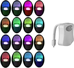 Toilet Nachtlampje PIR Motion Geactiveerd Toilet Licht Sensor LED Wasruimte Nachtlampje Binnen Toliet Lamp 8/16 Kleur Vera...