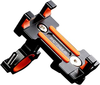 Prettyia 360 Rotating Adjustable Motorcycle Bike Motorbike Handlebar Phone Holder GPS Mount for iPhone