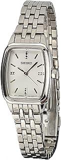Seiko Womens Quartz Watch, Analog Display and Stainless Steel Strap SRZ469P1