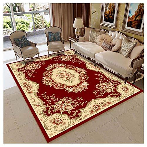 GUOCU Tappeto Classico Disegno Orientale Vintage Floreale Tappeti Moderni Soggiorno,Colorato12,200x280cm