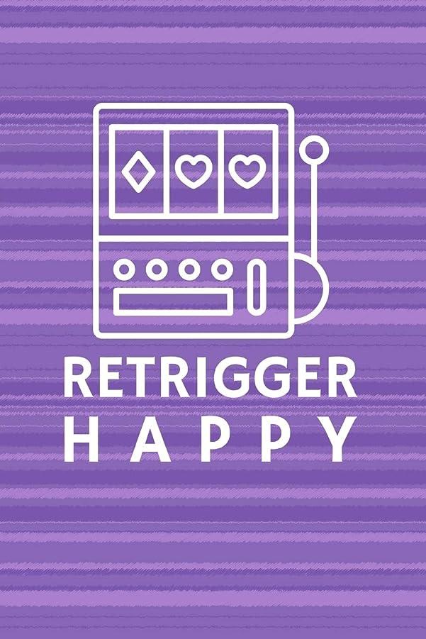 安心ピルファー浪費Retrigger Happy: Casino Slot Machine Notebook Journal