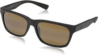 Maui Jim Sunglasses | Boardwalk 539 | Rectangular Frame, Polarized Lenses, with Patented PolarizedPlus2 Lens Technology