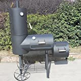 Der Syntrox Germany XXL Smoker Barbecue BBQ Grill – schicker Smoker mit Räucherturm