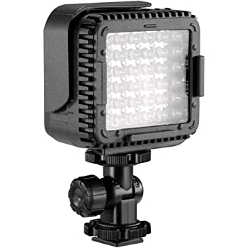 Neewer CN-LUX360 3200K-5600K Lámpara Regulable de Luz de Video LED ...