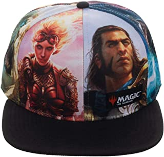 Magic: The Gathering Sublimated Print Black Adjustable Hat