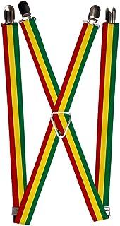 Buckle-Down Suspender - Rasta