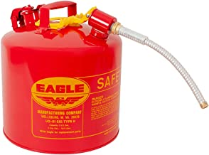 Eagle U2-51-SX5 Type II Metal Safety Can, Flammables, 11-1/4