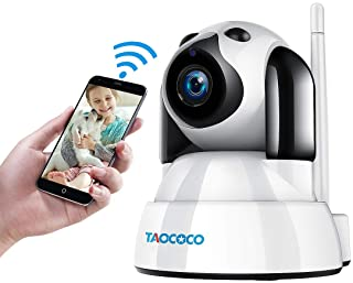 TAOCOCO Dog Pet Camera, 1080P FHD Cat WiFi IP Camera,...