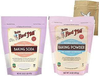 Sponsored Ad - One (1) Bob's Red Mill Baking Soda and One (1) Bob's Red Mill Baking Powder Bundle with One Organic, Fair T...