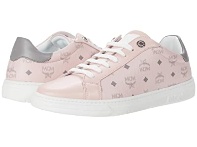 MCM Terrain Derby Sneaker (Powder Pink) Women