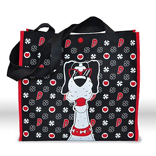DOGTARI Schultertasche, Tasche, Einkaufstasche, Beutel, Dogge, Haushalt, Shopper im Scully Design
