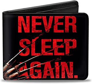 Men's Wallet Freddy's Hand Never Sleep Again + A Nightmare On Elm Accessory, -Multi, One Size