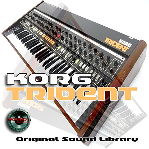 KORG Trident – The Very Best Of – großen Sound Library – Original Beispiele in Wellen Format auf DVD oder Download