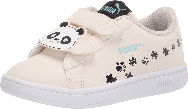 PUMA Unisex-Child Smash 2 Low price Hook Loop and Ranking TOP7 Sneaker