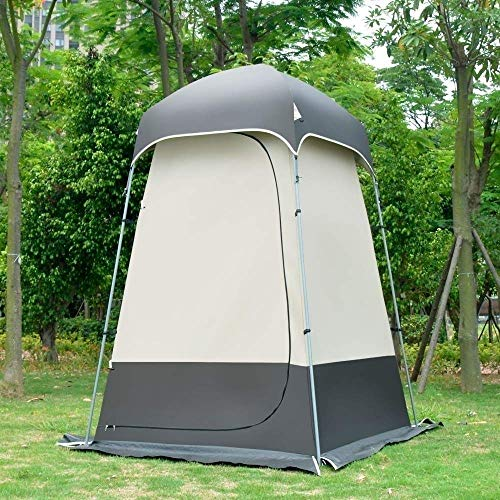 HIGHKAS Portable Privacy Tent, Camping Toilet Tent, Changing Room Tent, Outdoor Privacy Camp Shower Changing Room Shelter,Rainproof Camping Beach Fishing Tent
