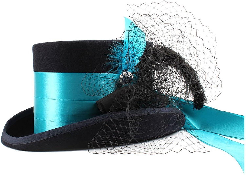 Brand New Victorian gothic Raven's Mad hatter Victorianriding top hat gothic romance