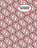 Octagonal Notebook: Ruled Large Grid Octagonal Graph Paper Notebook...