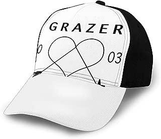 KEEHUA Gymnastics Leap Unisex Classic Hat Men Women Adjustable Baseball Cap Black