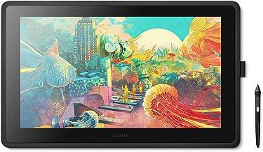 Wacom Cintiq 22 Monitor Interactivo Creativo, Soporte Regulable, para Ilustrar y Dibujar en Pantalla, Resolución 1920 x 1080 Full HD, Lápiz Digital Wacom Pro Pen 2, Compatible con Windows y Mac