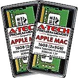 A-Tech 16GB (2x8GB) RAM for Apple iMac 2019 & 2020, Mac Mini 2018 & 2020 | DDR4...
