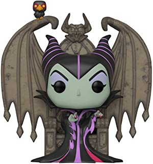 Funko Pop! Deluxe: Villains - Maleficent on Throne, Multicolor
