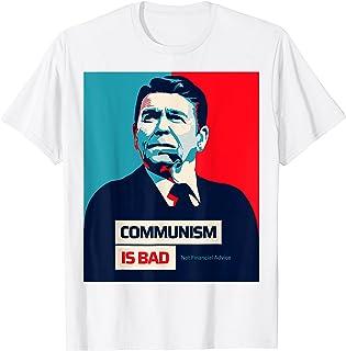 ロナルド・レーガン-共産主義は悪く、財政的なアドバイスは面白くない Tシャツ