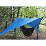 Outry Waterproof Multi-Purpose Tarp - Tent Stakes Included - 3