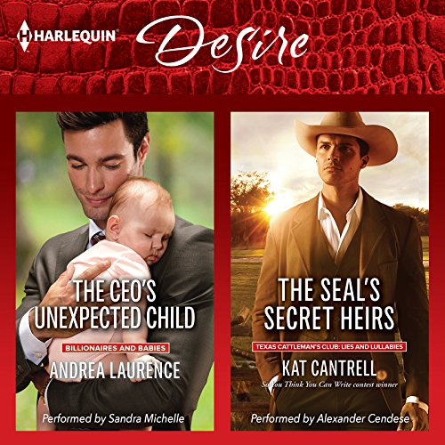 The CEO's Unexpected Child & The SEAL's Secret Heirs audiobook cover art