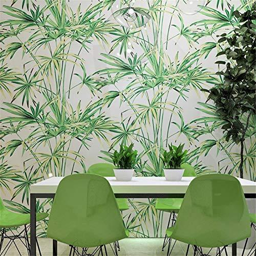 Kleine klare nachahmung bambus tapete, 3D tapete wohnzimmer schlafzimmer TV wand hintergrundbild,Moderne Wanddeko - Wandtapete?Tapezier Ratgeber?0,53 mx10 m (A Stil)