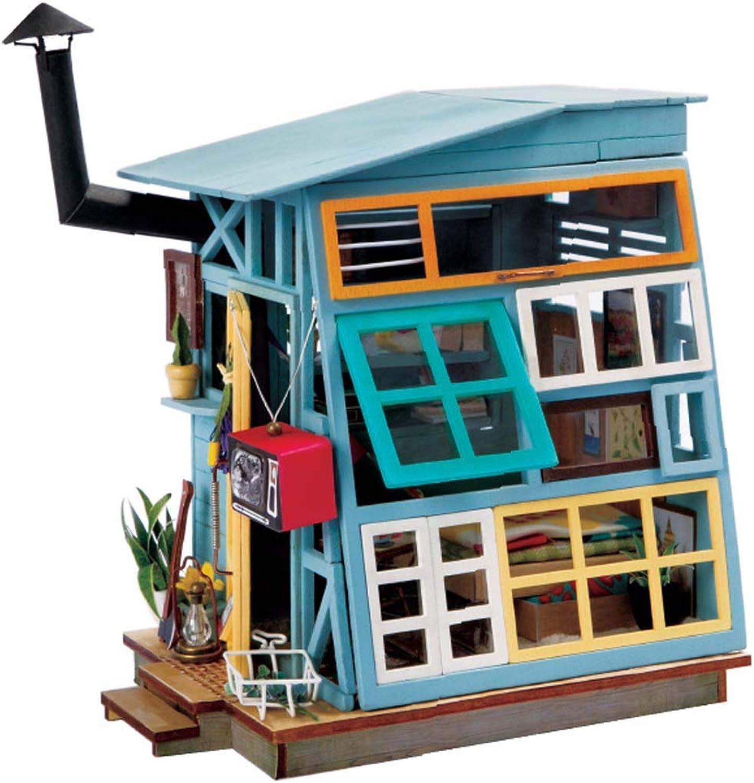 DUXX Cottage art house creative handassembled model