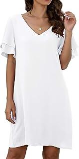 Jlcncue White Dress