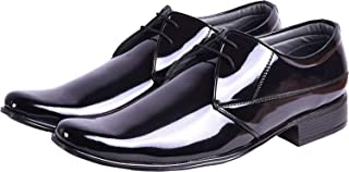 SECRET CLOSET Men's AS Black Shining Formal Shoes