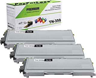 PayForLess TN350 TN-350 Toner Cartridge 3PK Black Compatible for Brother HL-2070N HL-2040 DCP-7020 MFC-7420 MFC-7225N MFC-7820N Intellifax-2820