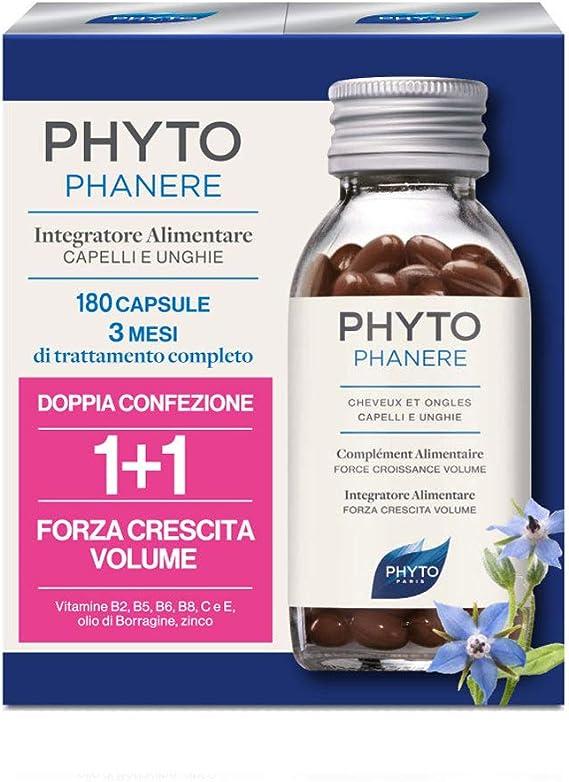 Phyto Phytophanere - Integratore Alimentare per Capelli e Unghie