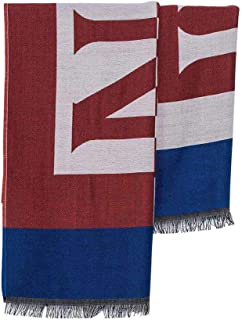 Scarf Frederick with maxi red logo