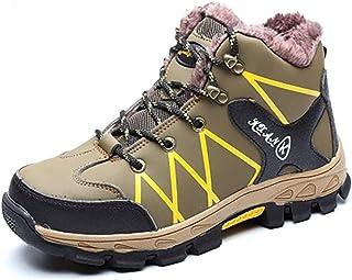 HJJ Calzado de protección Zapatos de Seguridad de Alto Nivel de Hombre, Zapatos térmicos de Forro de vellón, Zapatos de Se...