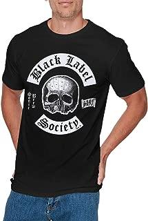 Mens Particular Black Label Society Tee Black