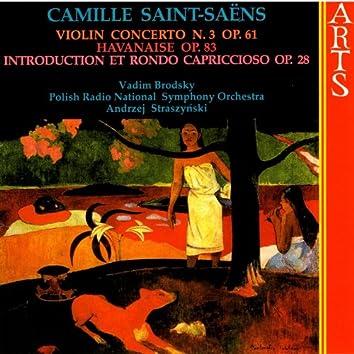 Saint-Saëns: Violin Concerto, N. 3