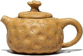 Sjydq Teapot Handmade Retro Purple Clay Tea Pot Raw Ore Mud Kettle Authentic Tea Set Household 125ml