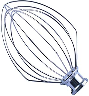 K5AWW Replacement Wire Whip Mixer Stainless Steel by Podoy Compatible with 5-Quart Stand Mixer KSM50, KSM5