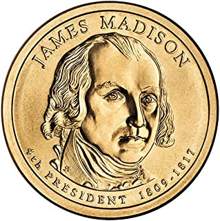 james madison dollar coin 1809 1817