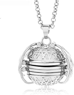 Gnzoe 925 Silver Sterling Pendant Necklaces for Men Women Vintage Mantra Birthday