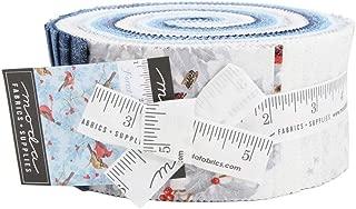 Forest Frost Glitter Favorites Jelly Roll 40 2.5-inch Strips Moda Fabrics 33410JRM