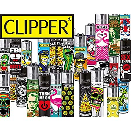 Clipper Feuerzeuge Mix - Clipper Wundertüte - 20 Stück